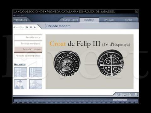 Colecci n de moneda catalana de la caixa de sabadell lavert for Oficina la caixa sabadell